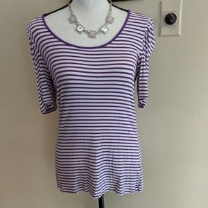 Soft Stretchy Striped Top